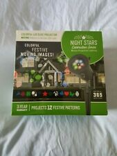 New listing Night Stars Led Lightshow Party Holiday Icon Motion Projector New in Box