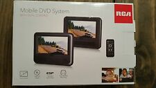 """RCA DRC69705E22 7"""" Dual Screen Mobile DVD System with Remote"""