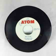 The Modulation Corporation Worms /What To Do 45 Vinyl 60's Garage ATOM Records