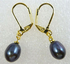 Drip Dangle genuined cultured Freshwater pearls Earring leverback marking supply