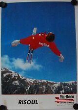 Affiche Ski RISOUL