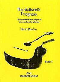 GUITARIST'S PROGRESS Book 1 Burden