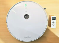 Pure Clean PUCRC455 Alexa Robot Vacuum Cleaner, Gyroscope S Path **NO CHARGER**