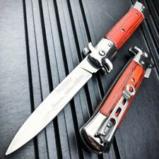 """9"""" TAC FORCE Italian Milano Stiletto Tactical Spring Open Assisted Pocket Knife"""