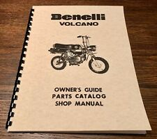 Benelli Volcano Owners & Service & Parts Manual
