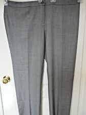 $250, NWT, 100% authentic, Marina Rinaldi gray color pants in size 14W/23
