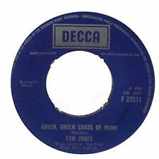 "Tom Jones - Green, Green Grass Of Home  - 7"" Record Single"