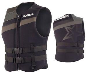 Jobe Progress Neo Vest Men Black Schwimmweste Wakeboard Wasserski Jetski SUP j16