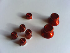 New RED Metal Aluminum Alloy ABXY Guide Thumbstick Bullet Xbox One Controller