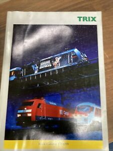 TRIX main catalog for 1998/99  Sales book Model Train Catalog Manual - 256 pages