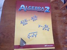 Abeka Algebra 2 Solution Key 86193007 math mathematics used paperback text book