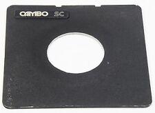 Cambo SC lensboard 65mm tagliato