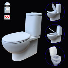 Compact Toilet Suite Ceramic Back To Wall Soft Close Seat P/ S Trap Promotion