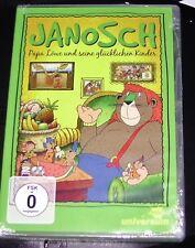 JANOSCH: PAPA LEÓN Y SEINE FELIZ KINDER DVD DOBLE ENVÍO RÁPIDO NUEVO