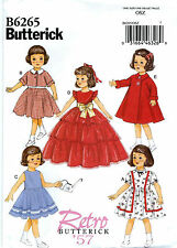 SEWING PATTERN! MAKE 50'S DOLL CLOTHES! FITS SHIRLEY TEMPLE~MARYELLEN~PATSY!