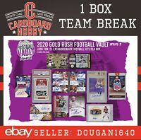 2020 Gold Rush Football Vault OAKLAND RAIDERS [1box] TEAM BREAK [Live]