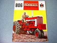Farmall 806 Tractor Brochure