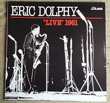 "Eric Dolphy ‎– ""Live"" 1961 Label: Enja Records ‎– SPE 1, Musica Jazz ‎- LP"