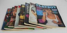 Playboy Magazine Sammlung Konvolut 1977 1979 USA Englisch English FKK Collection