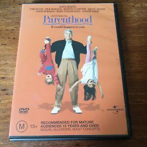 Parenthood DVD Steve Martin R4 Like New! FREE POST