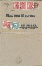 Czechoslovakia 1920 - Cover to Brussels Belgium D72