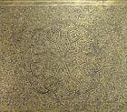 Antique Benares India Indian Engraved Brass Tray 24  61cm     58816