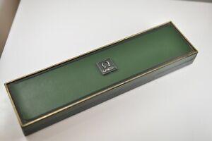 Omega de Ville Watch Box Case Etui Vintage & tag