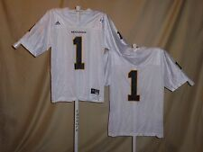 Missouri Tigers  FOOTBALL JERSEY  #1  Adidas   Large   NwT  white