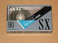 AKAI  SX-90  HIGH FIDELITY SOUND   TYPE I  SEALED  VINTAGE JAPAN