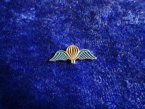 Belgien Belgisches Fallschirmjäger Springerabzeichen Pin