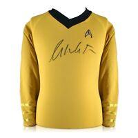 William Shatner Signed Star Trek Jersey Autographed Memorabilia