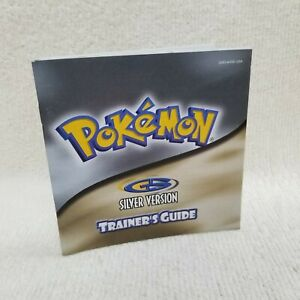 ⭐Pokemon Silver Version Trainer's Guide Nintendo GameBoy Color ONLY NO  GAME⭐👀