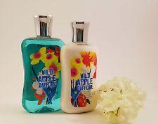 Bath & Body Works 2 Piece Set: * Wild Apple Daffodil * Body Lotion & Shower Gel