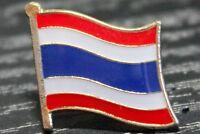 THAILAND Thai Metal Flag Lapel Pin Badge *NEW*