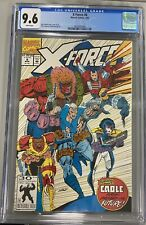 X-FORCE #8 CGC 9.6 X ROB LIEFELD CABLE X-MEN DOMINO SHATTERSTAR