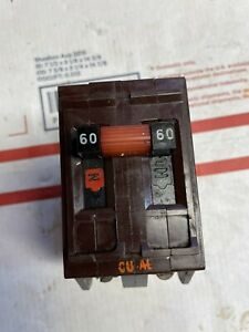 Wadsworth 60 Amp 2 Pole Breaker Continuity Tested
