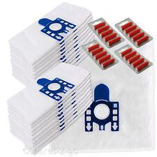 20 Sacchetti per aspirapolvere MIELE GN Compatibile Aspirapolvere in Microfibra Sacchetti /& Filtri 10