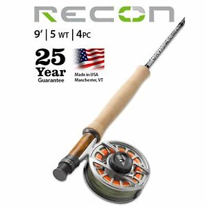 New 2020 Orvis Recon 2 | 5wt 9' Fly Rod - Free Shipping