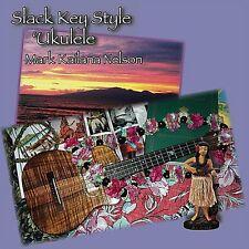 Mark Kailana Nelson - Slack Key Style Ukulele [New CD] Professionally Duplicated