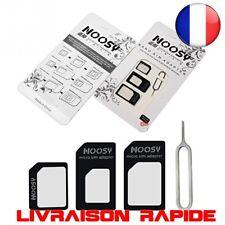 4 en 1 Nano adaptateur Carte Sim Micro Adaptateurs Standard Tous Les Téléphones