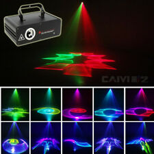 500mW 5 In 1 RGB 3D Beam Laser Show System DMX Projector DJ Party Stage Lighting