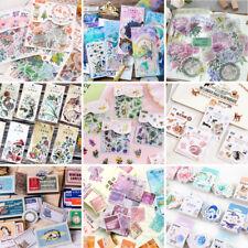 DIY Calendar Scrapbook Album Diary Book Decor Planner Paper Label Stickers