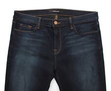 J Brand Skinny Leg Atlantis Womens Dark Wash Stretch Zipper Jeans - W33 L29