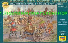 1:72 personaggi 8027 Medieval Field Artillery-ZVEZDA