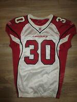 Arizona Cardinals #30 Vincent NFL Team Issued Reebok Game Football Jersey