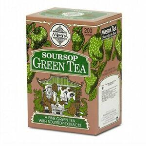 Mlesna Soursop Ceylon **Green Leaf Tea** Graviola** Loose PacK  200g NET