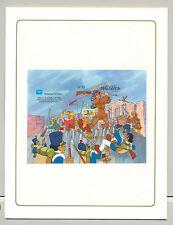 Maldives #1170 Disney Ameripex 1v S/S Imperf Chromalin Proof in Folder