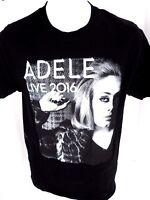 Medium Adele Live 2016 Concert T Shirt Black Unisex M