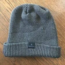 DC Shoes VINTAGE Beanie Slouch Toque Sample - Gray Black - Rare