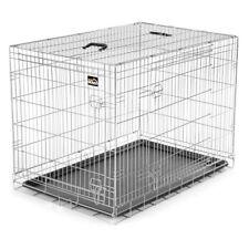Hundekäfig Transportbox Hundebox Tierkäfig Welpenkäfig Faltbar Käfig Metall XL